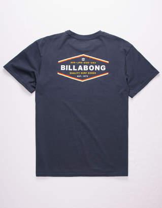 Billabong Vista Navy Mens T-Shirt