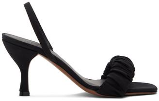 Neous Black Alhena 80mm Heeled Sandals