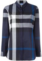 Burberry checked shirt - women - Cotton - S