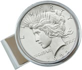 American Coin Treasures Sterling Silver Peace Coin Money Clip