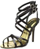 Juicy Couture Women's Skyler Sandals (Negro) Size: 5.5-6