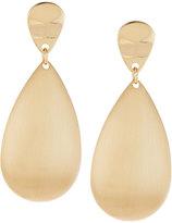 Lydell NYC Golden Double-Teardrop Earrings