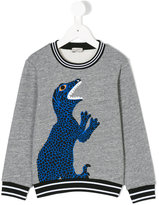 Paul Smith dinosaur print sweatshirt - kids - Cotton/Polyester - 2 yrs