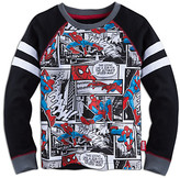 Disney Spider-Man Long Sleeve Raglan Tee for Boys