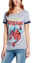 Marvel Women's the Amazing Spiderman T-Shirt