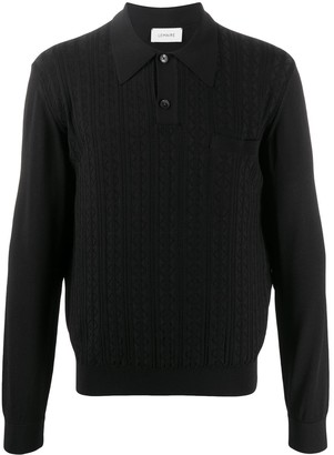Lemaire Long-Sleeve Polo Shirt