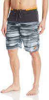 ZeroXposur Men's Printed Color Block Swim Short