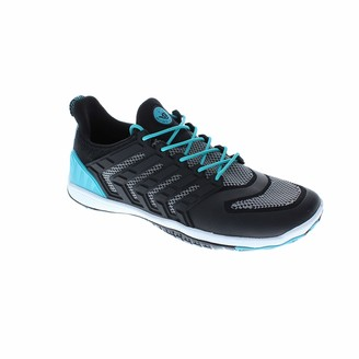 Body Glove Women's Dynamo Ribcage Water Shoe Black/Oasis Blue 10 M US