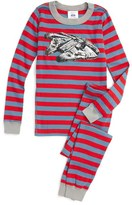 Hanna Andersson Toddler Boy's Star Wars(TM) Organic Cotton Fitted Two-Piece Pajamas
