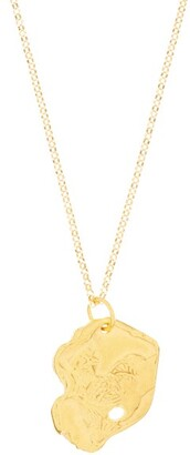 Alighieri The Rooster 24kt Gold-plated Necklace - Yellow Gold