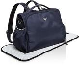 Armani Junior Logo Diaper Backpack