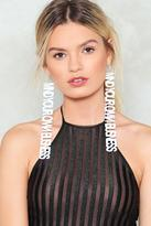 Nasty Gal nastygal Mind Your Own Business Earrings