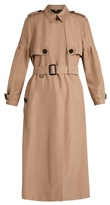Burberry Maythorne mulberry-silk trench coat
