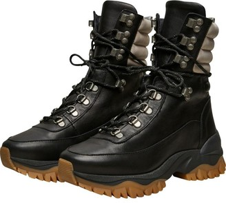 Selected Leather Hiking Boots - 37