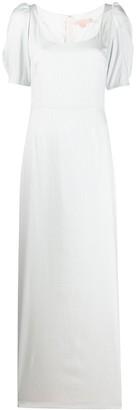 Brock Collection Striped Column Dress