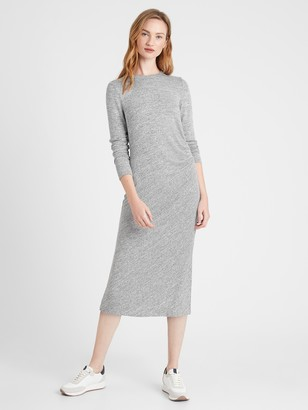 Banana Republic Luxespun Side-Ruched Dress