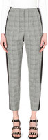 French Connection Empire high-rise cropped crepe trousers