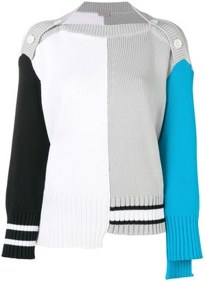 Mrz Colour Block Sweater