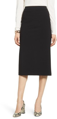 Halogen Stretch Twill Pencil Skirt