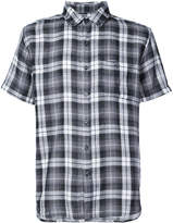 Michael Bastian short sleeve plaid shirt