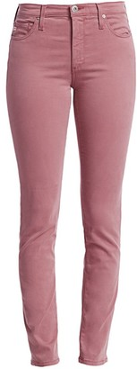 AG Jeans Prima Sateen Mid-Rise Ankle Jeans