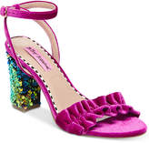 Betsey Johnson Ilana Block-Heel Sandals