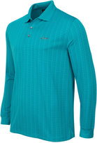 Greg Norman For Tasso Elba Men's Striped Long-Sleeve Polo, Only at Macy's