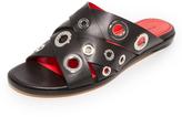 Proenza Schouler Crisscross Slides