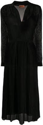 Missoni wrap front V-neck knit dress