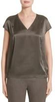 Lafayette 148 New York Women's Aisley Luminous Cloth Blouse