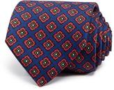 Drakes Drake's Square Medallion Neat Classic Tie