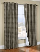 Commonwealth Home Fashions Waves Lined Window Curtain Panel