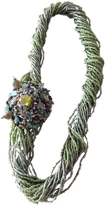 Maliparmi Green Pearls Necklaces
