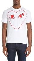 Comme des Garcons Heart Outline Graphic T-Shirt