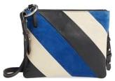 Topshop Premium Leather Bridget Crossbody Bag - Black