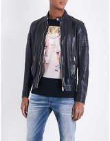 Diesel L-tod Leather Jacket