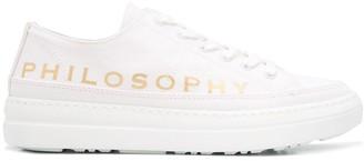 Philosophy di Lorenzo Serafini Logo Low-Top Sneakers