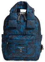 Marc Jacobs Nylon Knot Camo Backpack - Blue