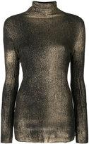 Avant Toi turtle neck jumper - women - Silk/Polyester/Cashmere - M