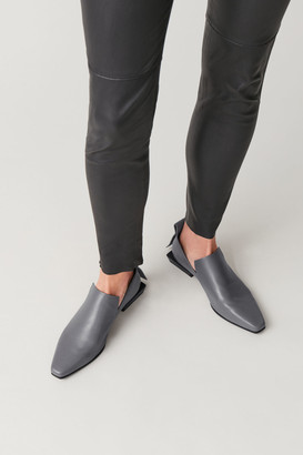 Cos Pointed Leather Loafers