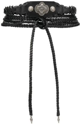 Etro Braided Wrap Around Belt