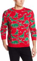 Alex Stevens Men's Dinosaur Chaos Sweater