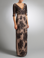 Somerset by Alice Temperley Lace Long Dress, Black