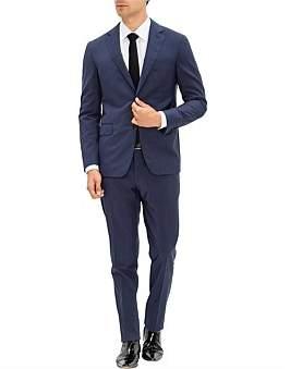 Pal Zileri 2B Sb Sv Fl Pkt Notch Lapel Wl Key Plain Suit