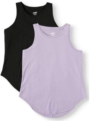 Avia Women's Active Performance Tank Top, 2-Pack