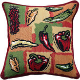 B. Smith Park Park Hot Peppers Decorative Pillow