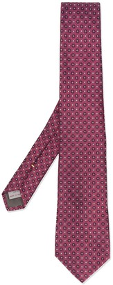 Canali All-Over Pattern Tie