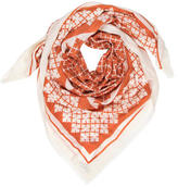 By Malene Birger Abstract Wool Scarf w/ Tags