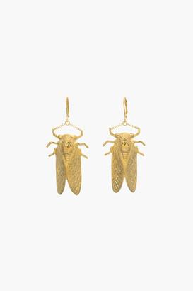 Goldbug Collection Goldbug Large Drop Earrings