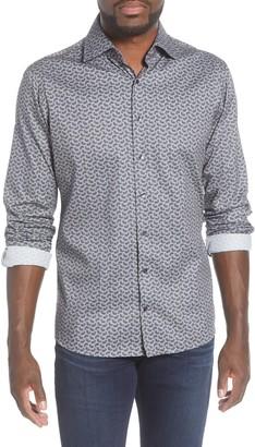 Brax Harry Modern Fit Button-Up Flannel Shirt